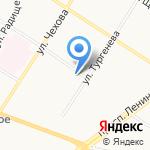 Валео на карте Ярославля