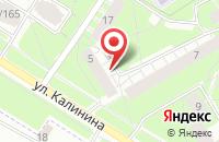 Схема проезда до компании App.techka в Нагорном