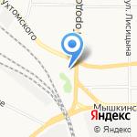 Галерея Тепла на карте Ярославля