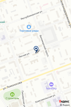 САЛОН МЕБЕЛИ на карте Северодвинска