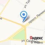 Углич на карте Ярославля