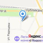 Региональный центр обработки информации и образовательной статистики на карте Ярославля