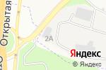 Схема проезда до компании Донцемент в Аксае
