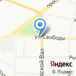 Отдел государственной статистики по Ярославскому району на карте Ярославля