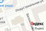Схема проезда до компании ЛунаГрафика в Северодвинске