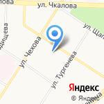 Прокуратура г. Ярославля на карте Ярославля
