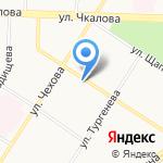 Блик на карте Ярославля