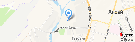Фруктово-Овощной Ростовский Терминал на карте Аксая
