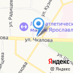 Альтернатива на карте Ярославля