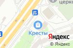Схема проезда до компании Магазин женской одежды в Ярославле