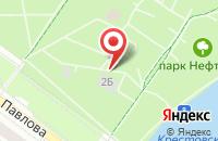 Схема проезда до компании Нефтяник в Ярославле
