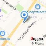 Кресты на карте Ярославля