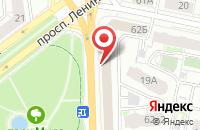 Схема проезда до компании Гулливер в Ярославле