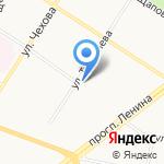 Техномолл на карте Ярославля
