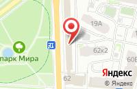 Схема проезда до компании Центр занятости населения г. Ярославля в Ярославле