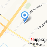 Детский сад №41 на карте Ярославля