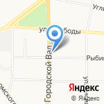 Роспромфинанс на карте Ярославля