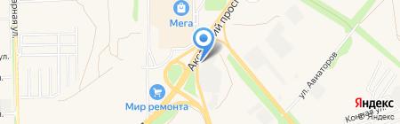 ЕВРОПАРТ Рус на карте Аксая
