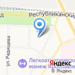Ярославский автомеханический колледж на карте Ярославля