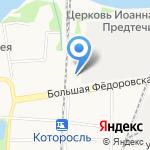 Мотоангар на карте Ярославля