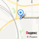 ЖАР ДА ПАР на карте Ярославля