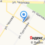 Александра на карте Ярославля