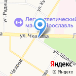 Пiвнoвъ на карте Ярославля