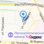 ЛИЦЕЙ на карте Ярославля