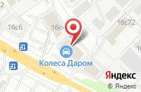 Схема проезда до компании Deepmedia в Ярославле