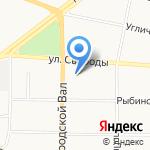 Топ-Драйв на карте Ярославля