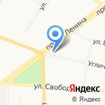 Серебряные Пруды на карте Ярославля