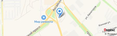 АЗС Роснефть на карте Аксая