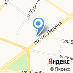 Центр кредитных решений на карте Ярославля
