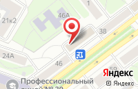 Схема проезда до компании Сетевые Технологии в Ярославле