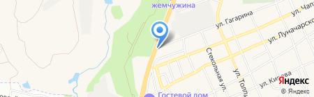 ТОПМАРИН-Юг на карте Аксая
