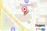 Схема проезда до компании ВИТЯЗЬ в Ярославле