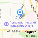 Дом Памяти на карте Ярославля
