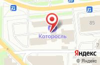 Схема проезда до компании Party Bus в Ярославле