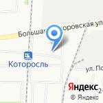 Отделение ГИБДД по дорожному надзору по Ярославскому району на карте Ярославля
