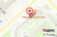 Схема проезда до компании Бизнес-Ателье в Вологде
