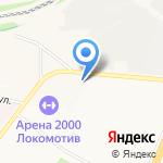 Ярославский государственный технический университет на карте Ярославля