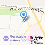 Московский финансово-юридический университет на карте Ярославля