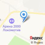 Столовая на карте Ярославля