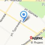 Адвокатская контора №1 на карте Ярославля