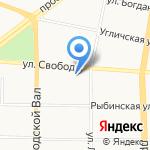 Городской комитет профсоюза работников народного образования и науки на карте Ярославля