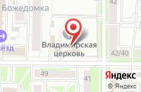 Схема проезда до компании Следственное Управление Следственного комитета при прокуратуре РФ по Ярославской области в Ярославле