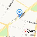 Управляющая организация многоквартирными домами Кировского района на карте Ярославля