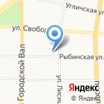 Региональный фонд содействия капитальному ремонту многоквартирных домов Ярославской области на карте Ярославля