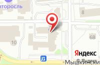 Схема проезда до компании Ярнет в Ярославле