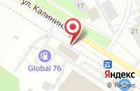 Схема проезда до компании Руна-Продснаб в Нагорном